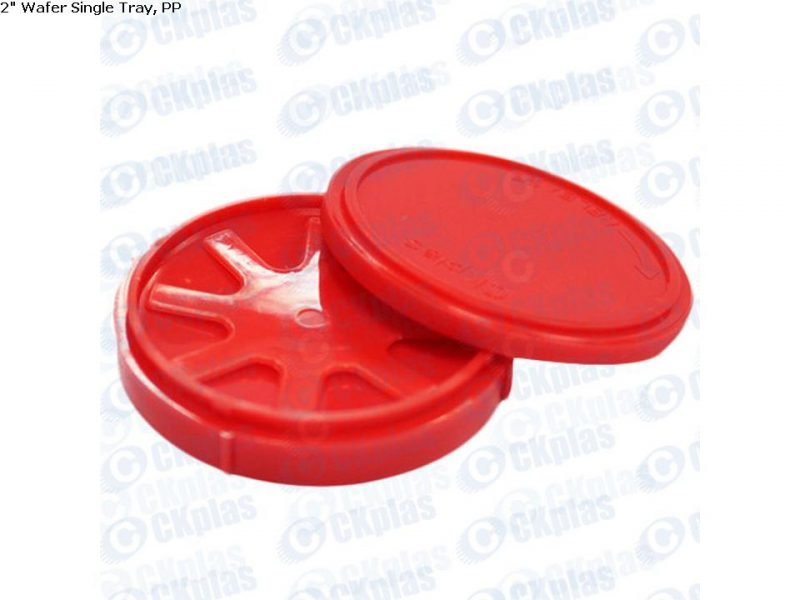 ckplas 2 inch Wafer Single Tray PP